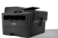 Didelis spausdintuvas pasuktas