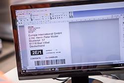 Etiketės redagavimas kompiuteryje