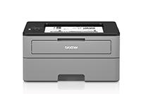 HLL2350DW ir HLL2310D kompaktiško dizaino spausdintuvai