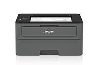 HLL2375DW ir HLL2370DN kompaktiški juodi spausdintuvai