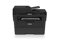 Juodo spausdintuvo priekis