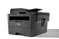Didelis spausdintuvas kampu