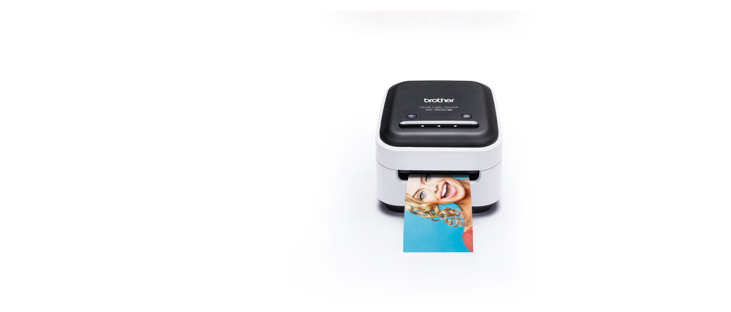 Brother VC-500W colour label printer
