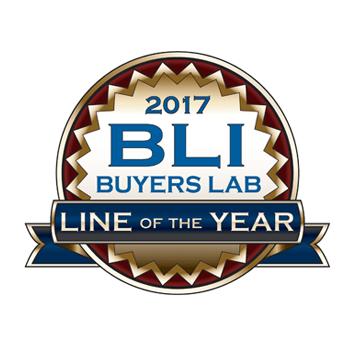 BLI metų linija logotipas