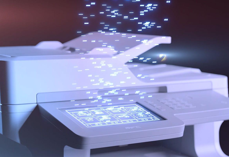 Brother MFC-L9570CDW A4 formato profesionalus spalvotas lazerinis spausdintuvas su duomenų srautu iš jutiklinio ekrano