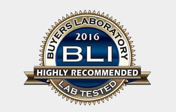 BLI labai rekomenduojama 2016 m. logotipas