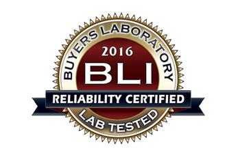 BLI  patikimumo sertifikatas 2016 m.