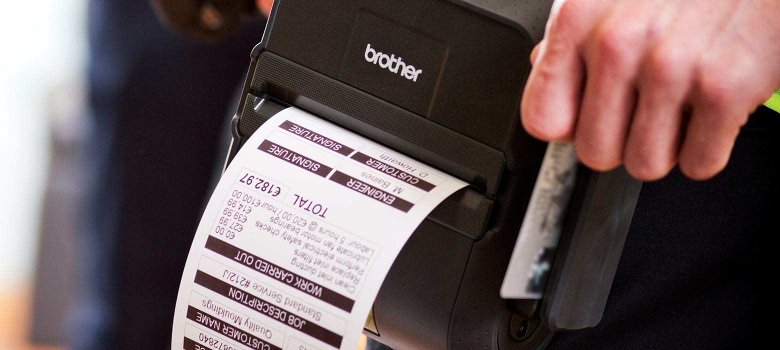 Portable Printers from Brother