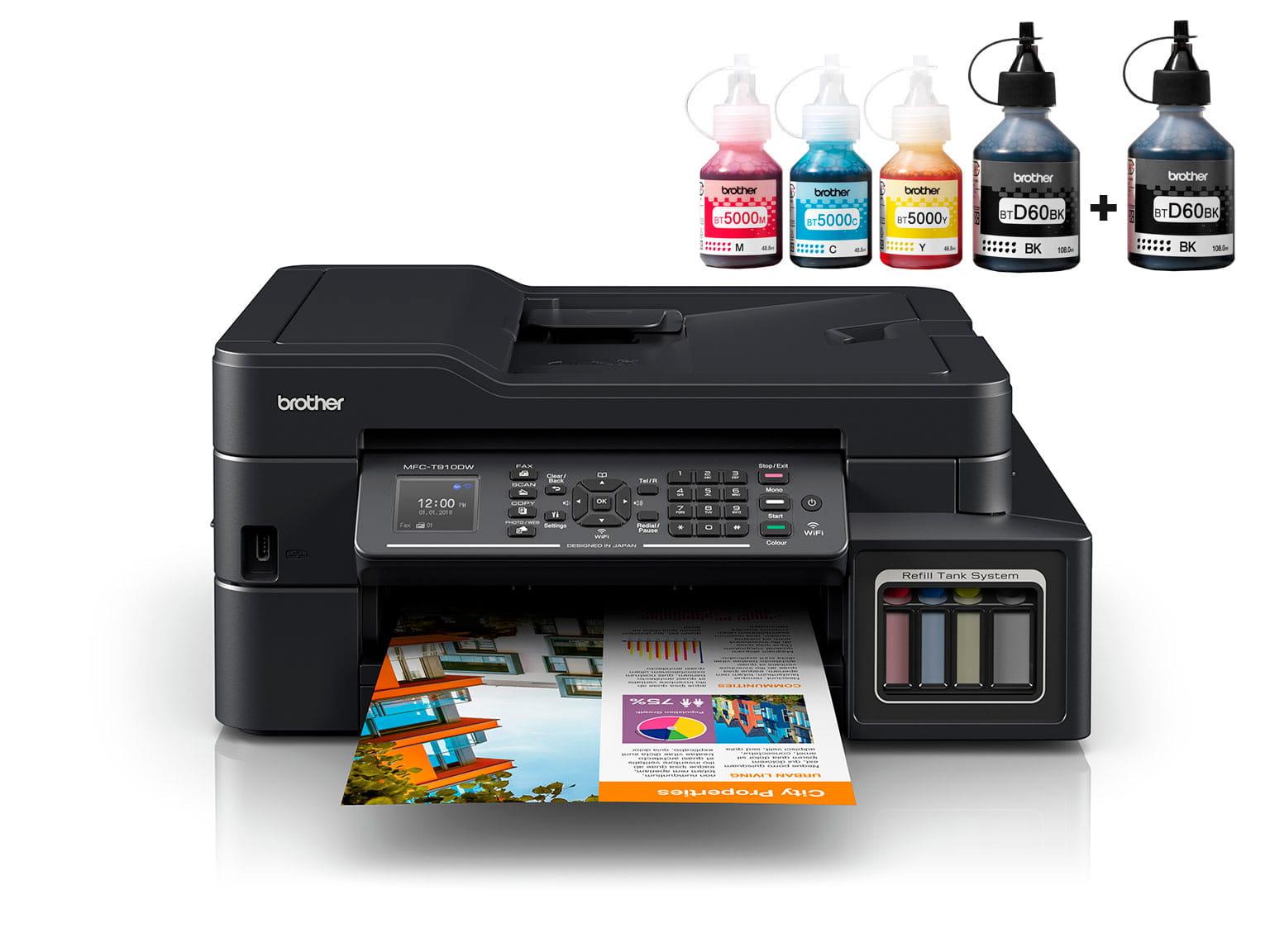 Brother InkBenefit Plus inkjet printer MFC-T910DW
