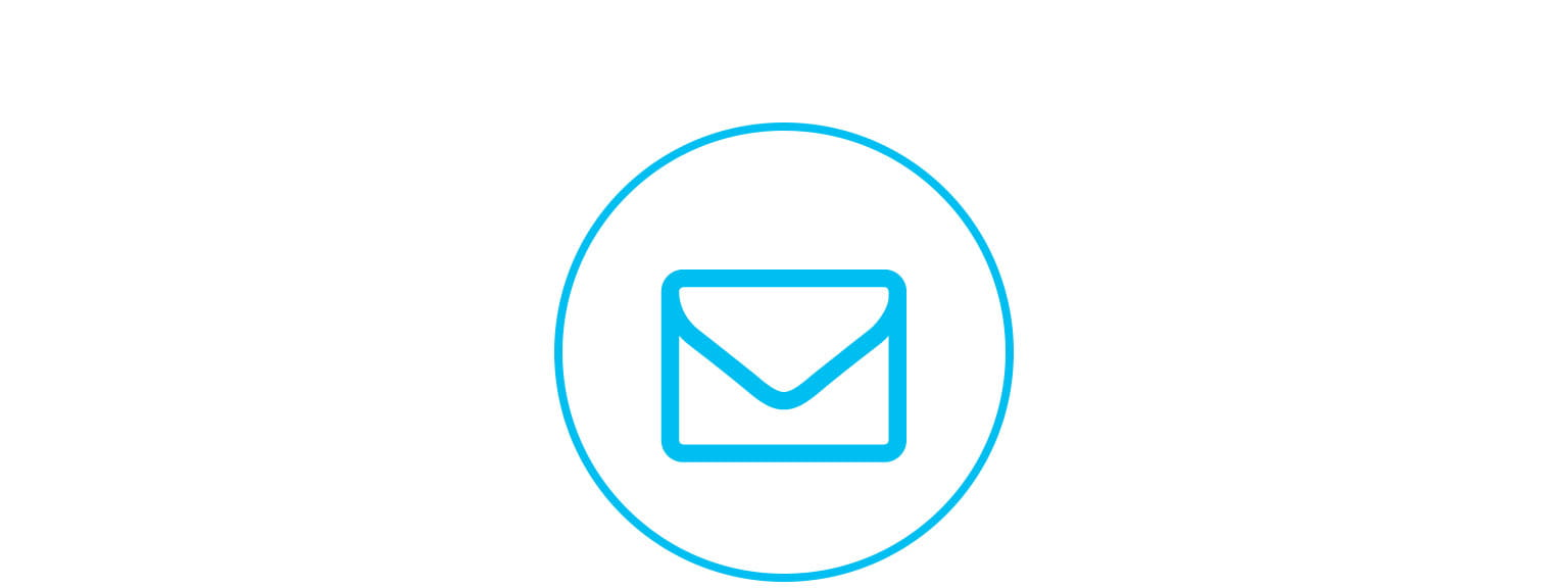 envelope contact us