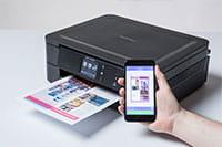 Rašalinis spausdintuvas ir mobilusis įrenginys