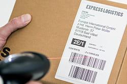 Brūkšninės etiketės nuskaitymas