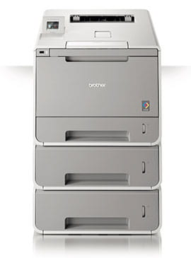 Brother HLL9300CDWTT Printer with white background