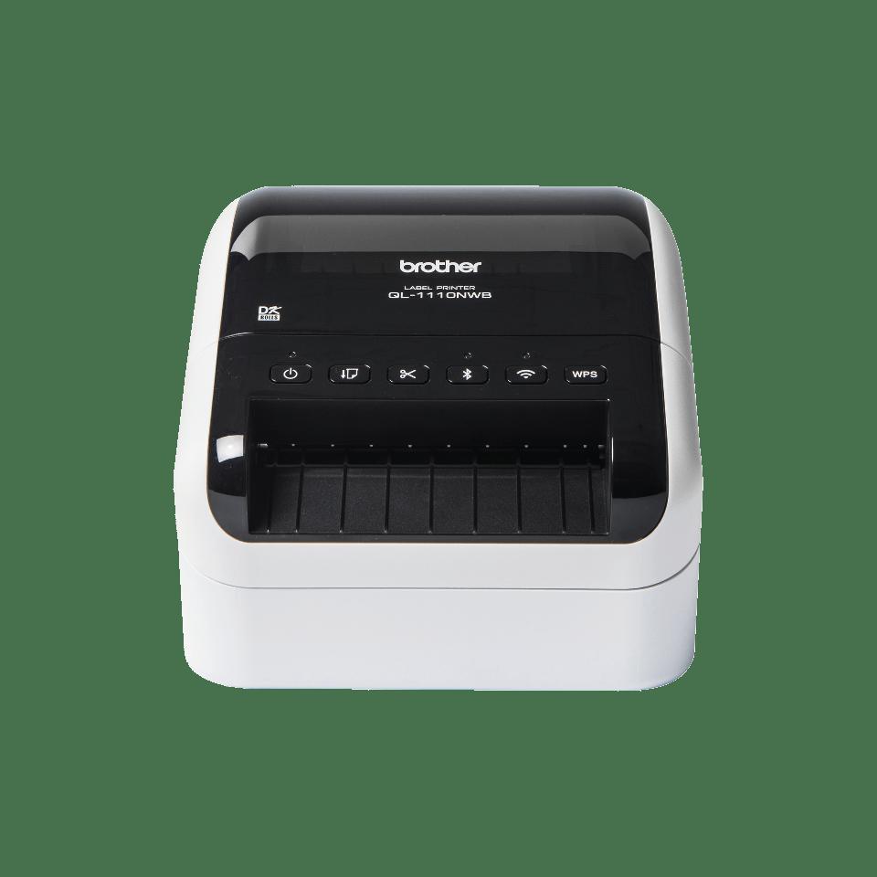 QL-1110NWB plataus formato gabenimo etikečių spausdintuvas