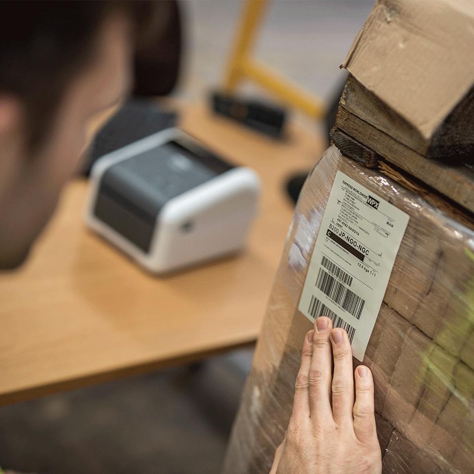 Brother TD-4420DN aukštos kokybės į tinklą jungiamas stalinis etikečių spausdintuvas 5
