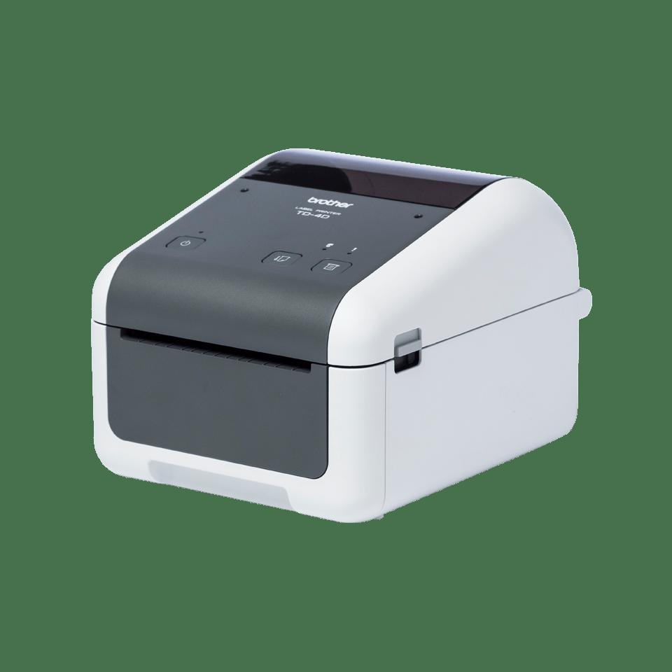Brother TD-4420DN aukštos kokybės į tinklą jungiamas stalinis etikečių spausdintuvas 2
