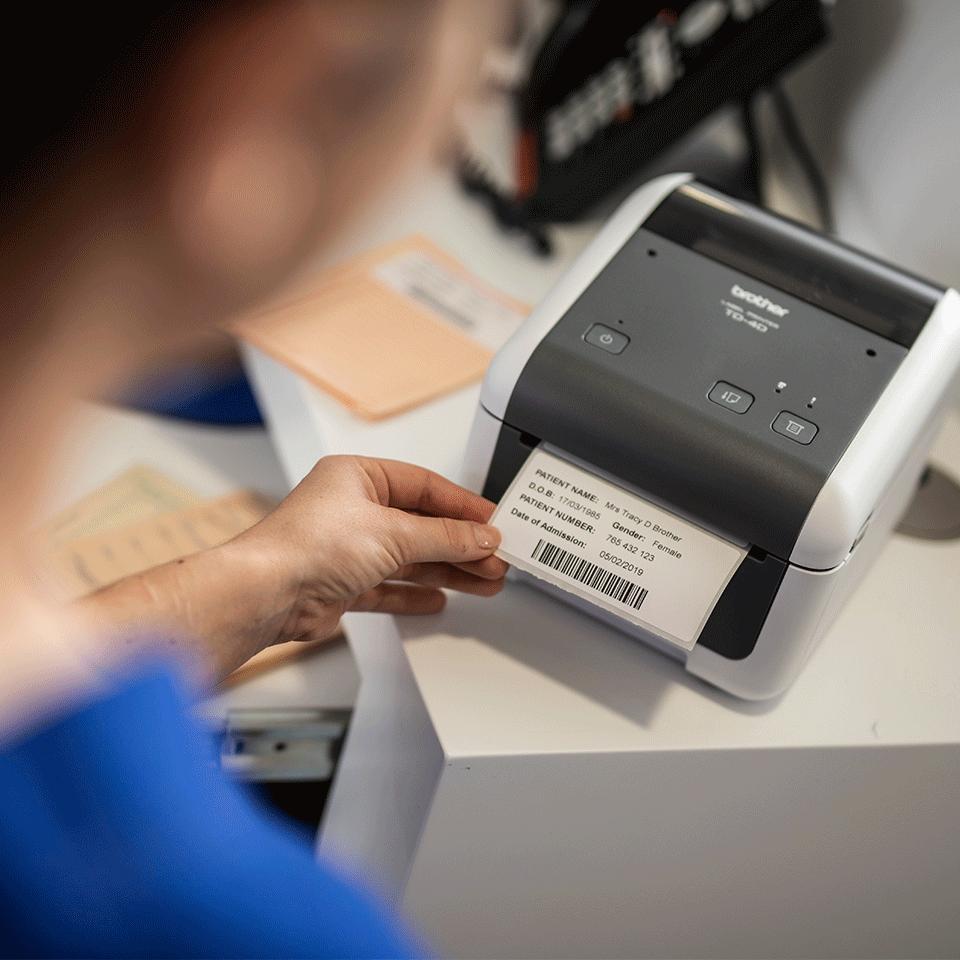 Brother TD-4520DN profesionalus stalinis į tinklą jungiamas etikečių spausdintuvas 6