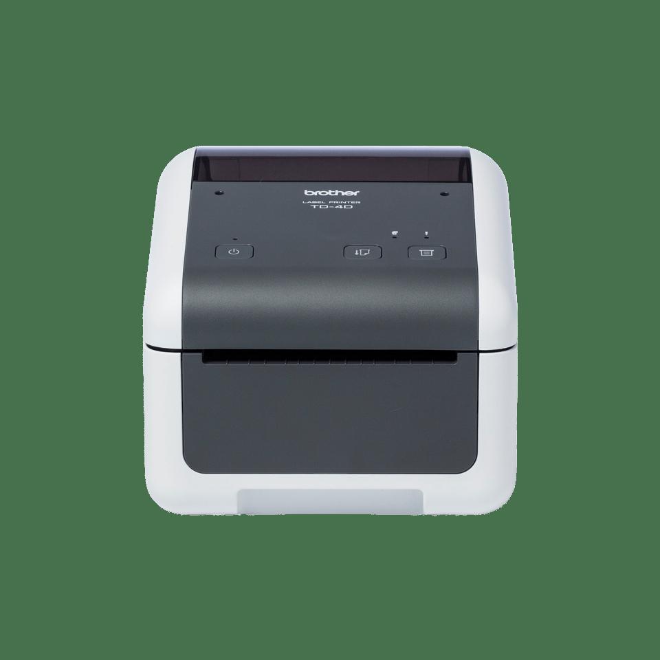 Brother TD-4520DN profesionalus stalinis į tinklą jungiamas etikečių spausdintuvas