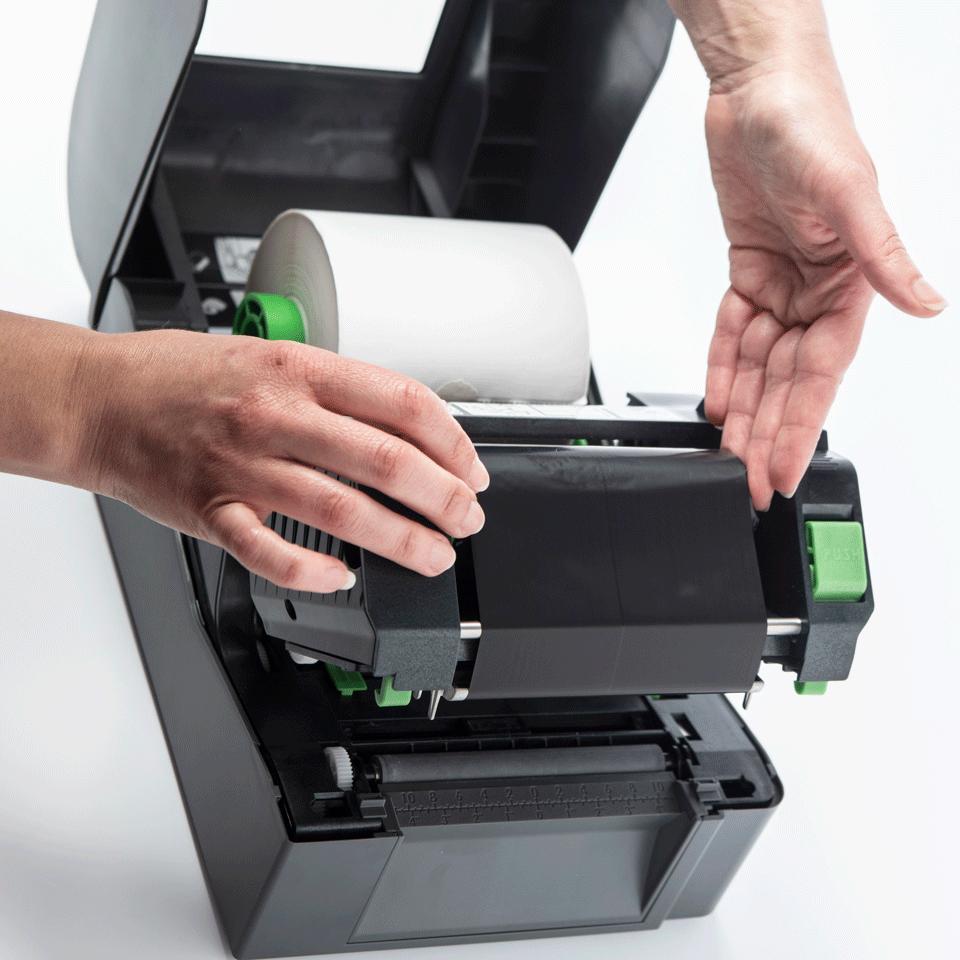 Brother TD-4520TN terminio perdavimo stalinis etikečių spausdintuvas 5