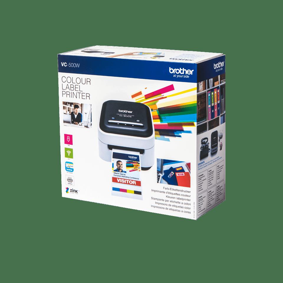 VC-500W Įvairiaspalvių etikečių spausdintuvas 4