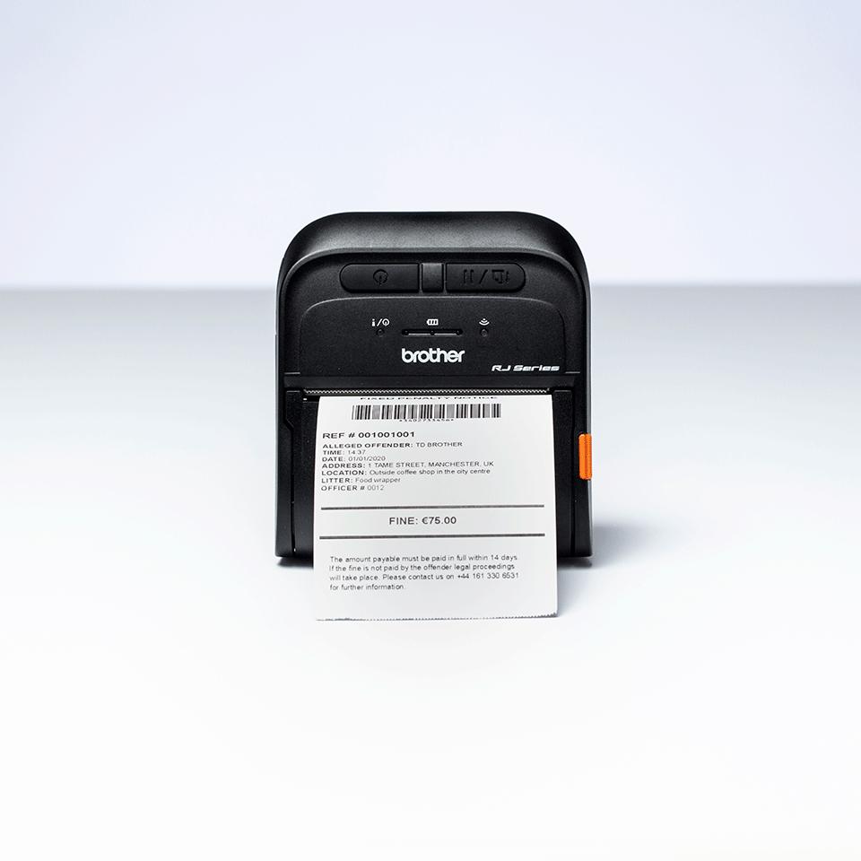 Brother RJ-3035B mobilus čekių spausdintuvas 5