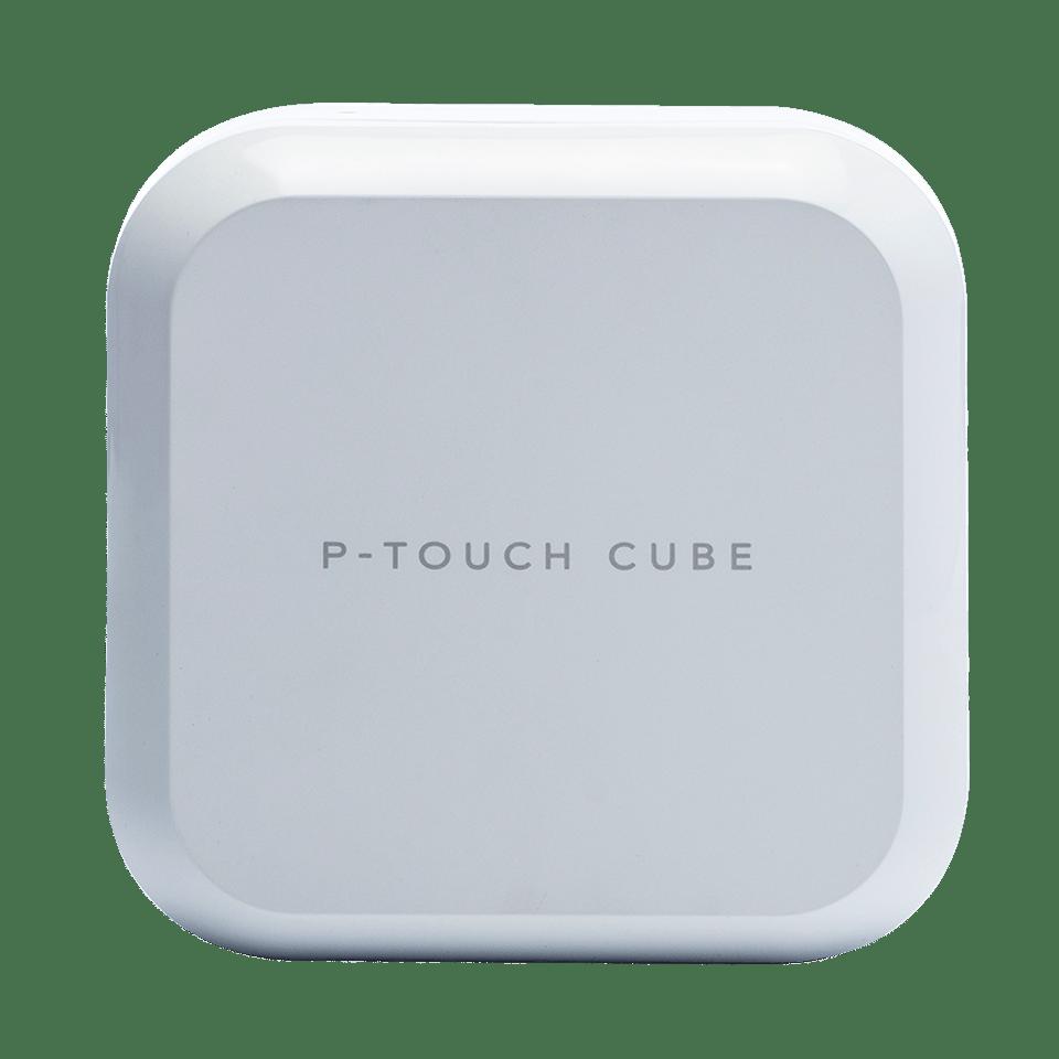 P-touch CUBE Plus PT-P710BTH įkraunamas etikečių spausdintuvas su Bluetooth jungtimi