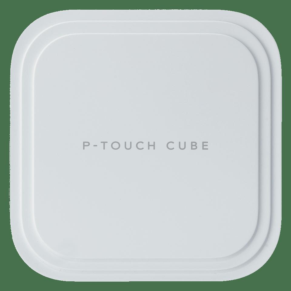 """""""P-touch CUBE Pro"""" (PT-P910BT) įkraunamas etikečių spausdintuvas su Bluetooth jungtimi"""