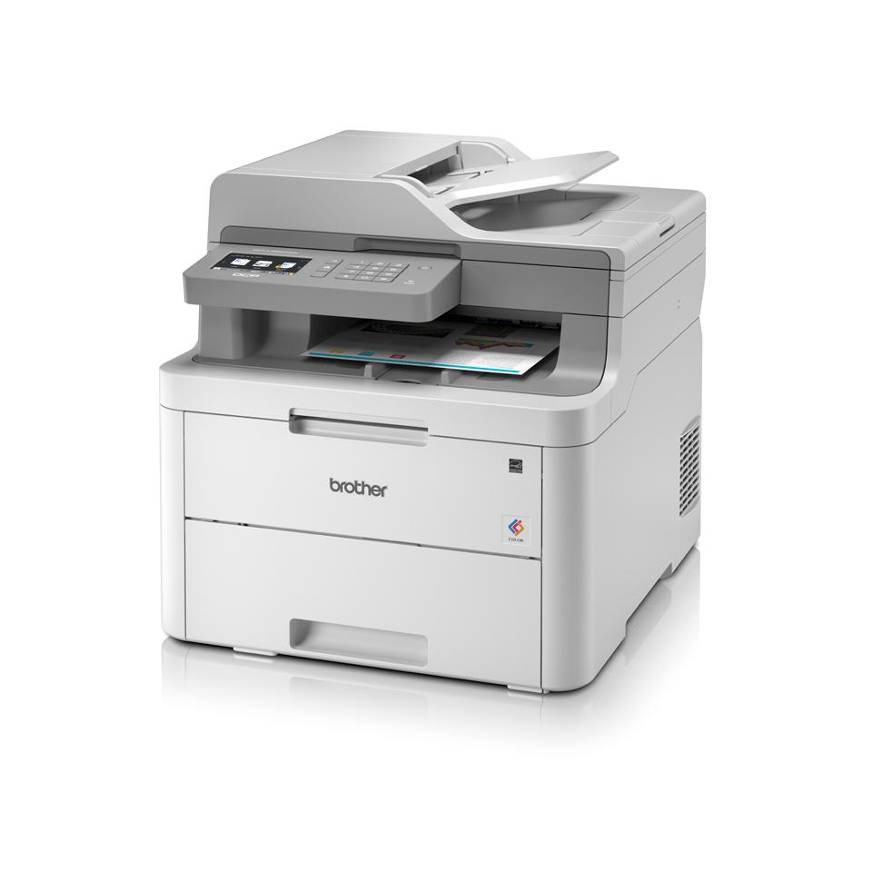"DCP-L3550CDW spalvotas belaidis LED ""3-in-1"" spausdintuvas 2"