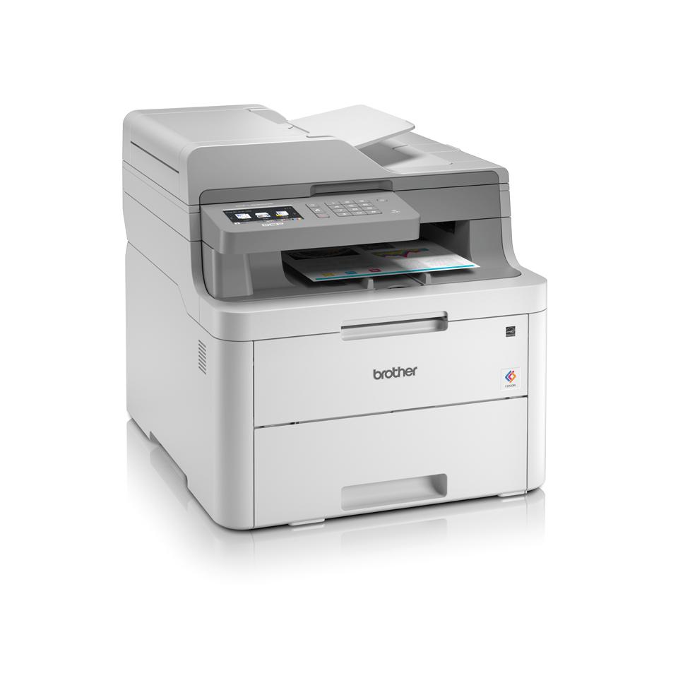 "DCP-L3550CDW spalvotas belaidis LED ""3-in-1"" spausdintuvas 3"