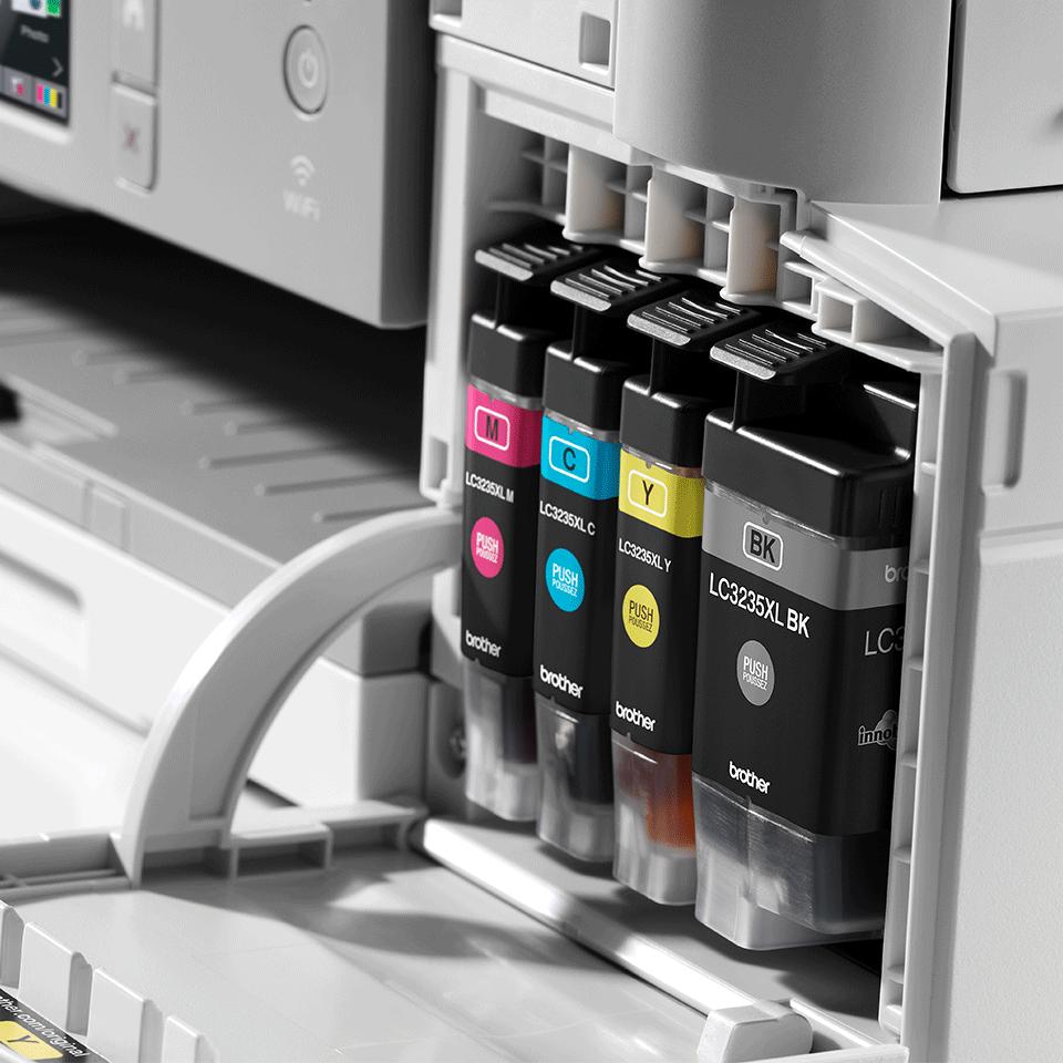 """Belaidis """"3-in-1"""" spalvotas rašalinis spausdintuvas DCP-J1100DW """"Viskas dėžėje"""" rinkinys 6"""