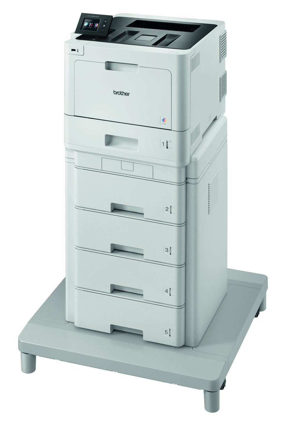 HL-L8360CDWMT spalvotas lazerinis spausdintuvas su bokštiniu dėklu 2