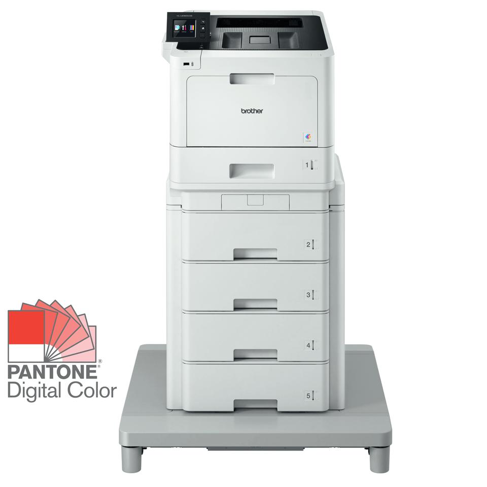 HL-L8360CDWMT spalvotas lazerinis spausdintuvas su bokštiniu dėklu