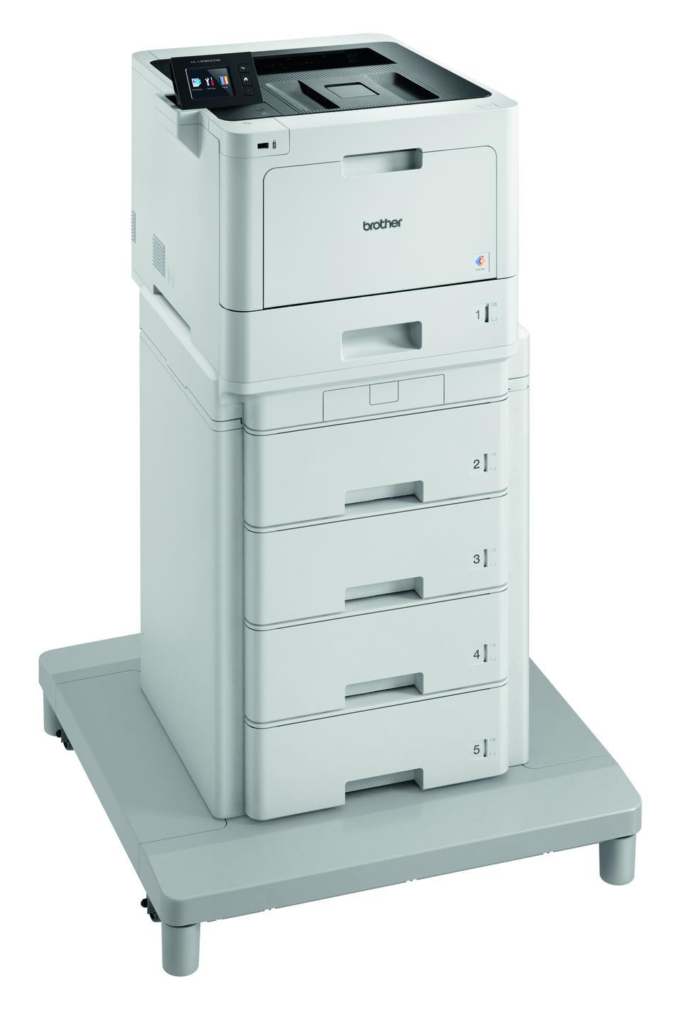 HL-L8360CDWMT spalvotas lazerinis spausdintuvas su bokštiniu dėklu 3