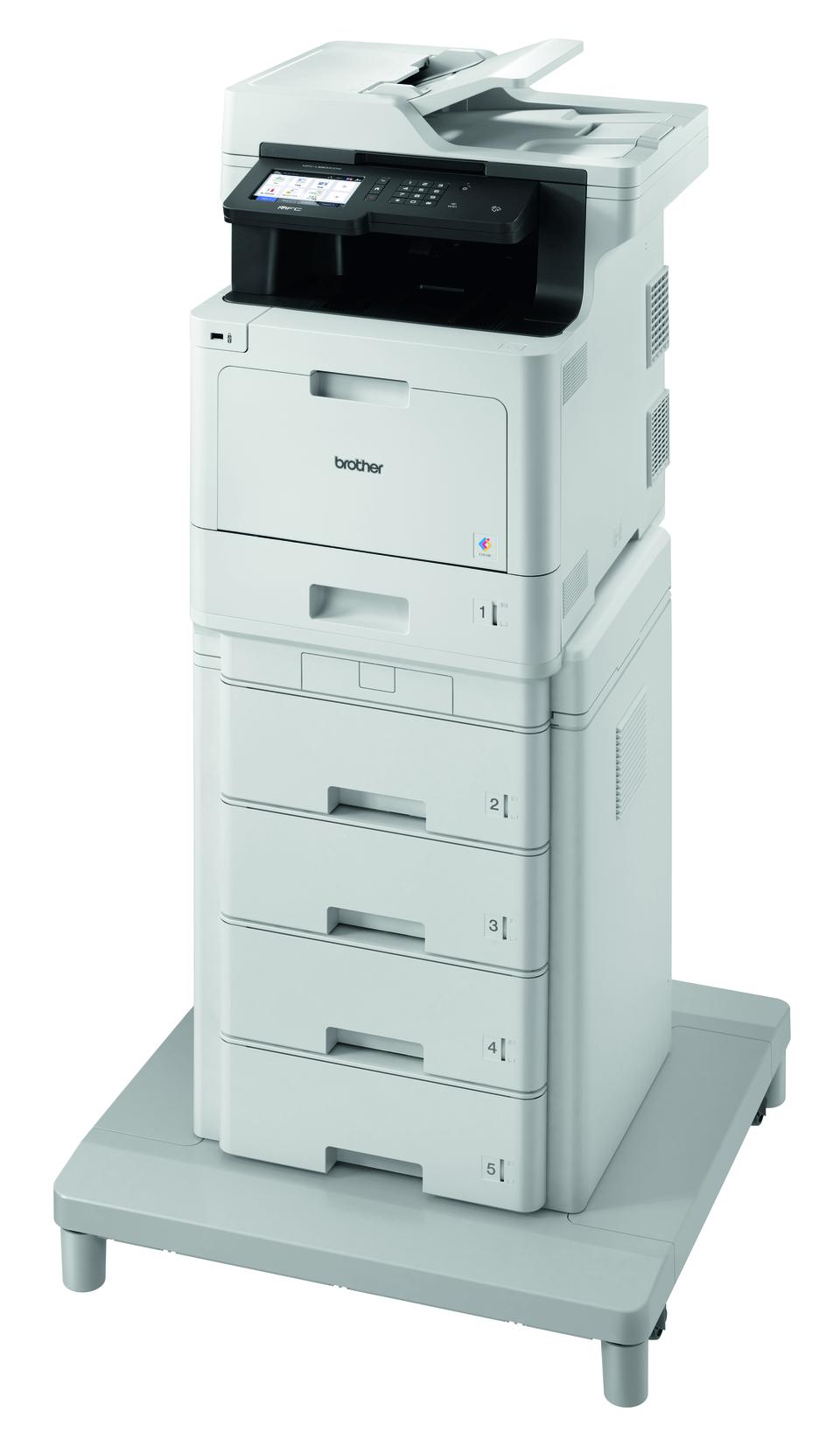 Brother MFC-L8900CDWMT spausdintuvas su bokštiniu dėklu  2