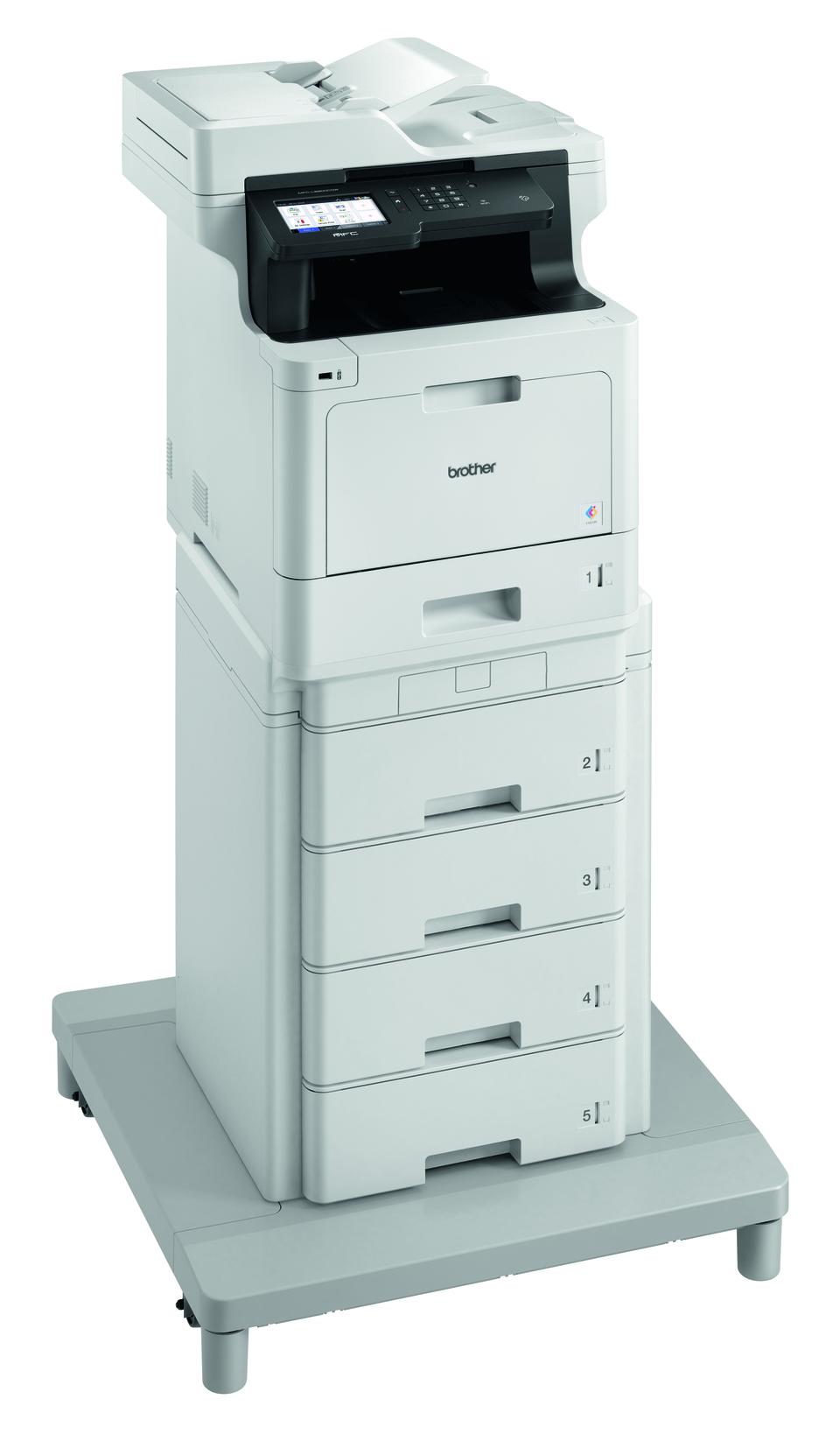 Brother MFC-L8900CDWMT spausdintuvas su bokštiniu dėklu  3