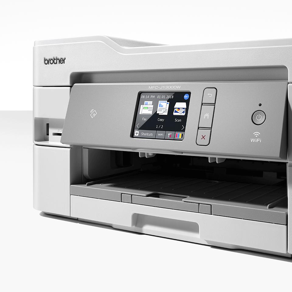 """Belaidis """"4-in-1"""" spalvotas rašalinis spausdintuvas MFC-J1300DW """"Viskas dėžėje"""" rinkinys 4"""