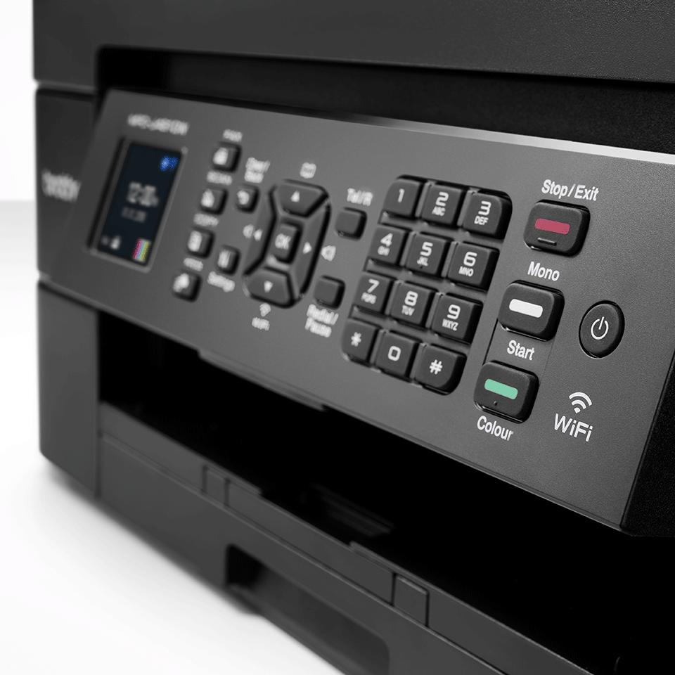 Belaidis 4-in-1 spalvotas rašalinis spausdintuvas MFC-J491DW 5