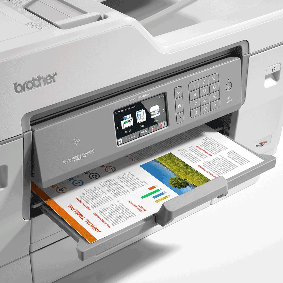 """MFC-J6945DW spalvotas belaidis A3 formato rašalinis """"4-in-1"""" spausdintuvas 6"""