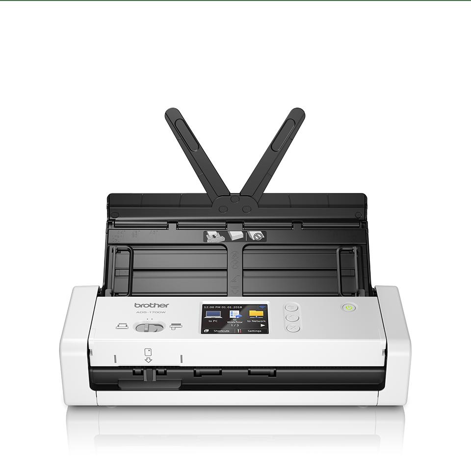 ADS-1700W sumanus, kompaktiškas dokumentų skaitytuvas 5