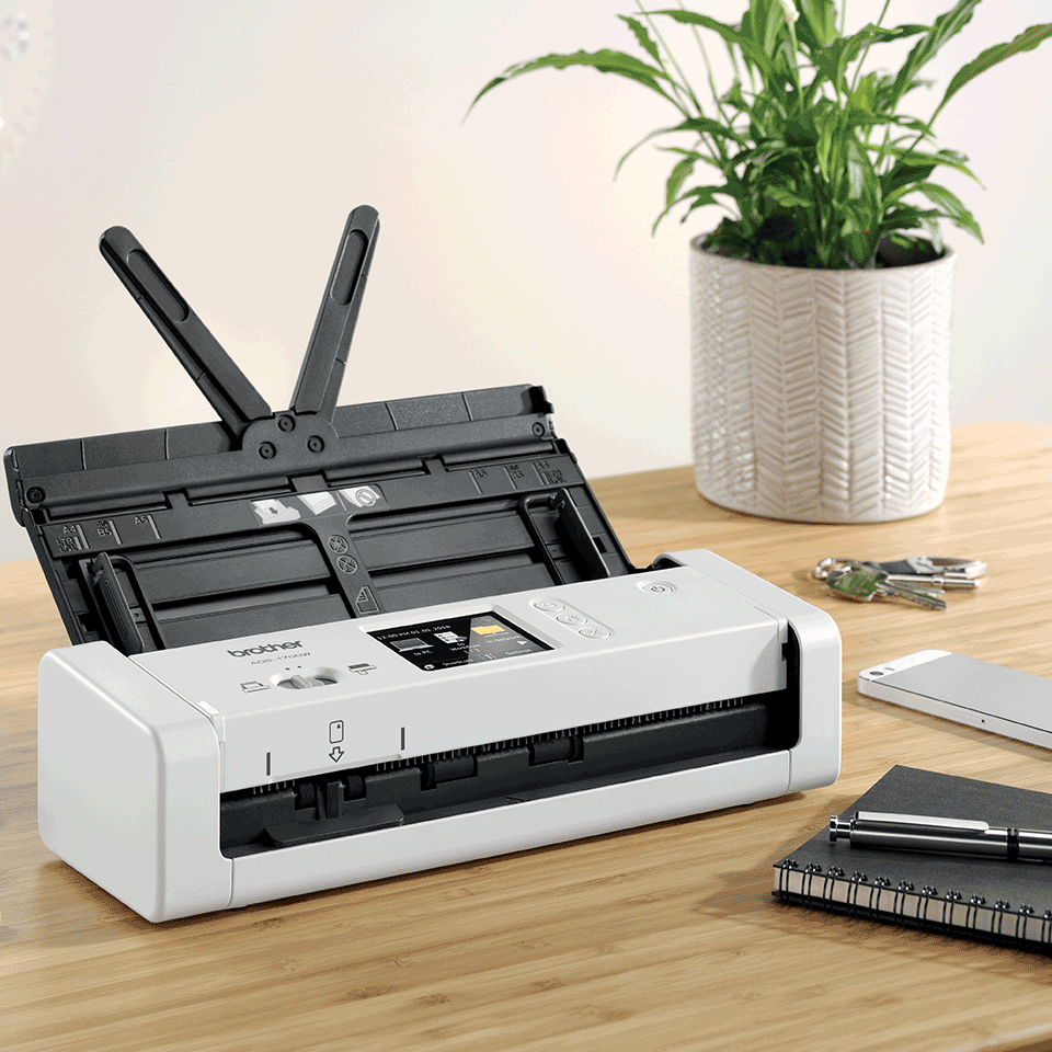 ADS-1700W sumanus, kompaktiškas dokumentų skaitytuvas 6