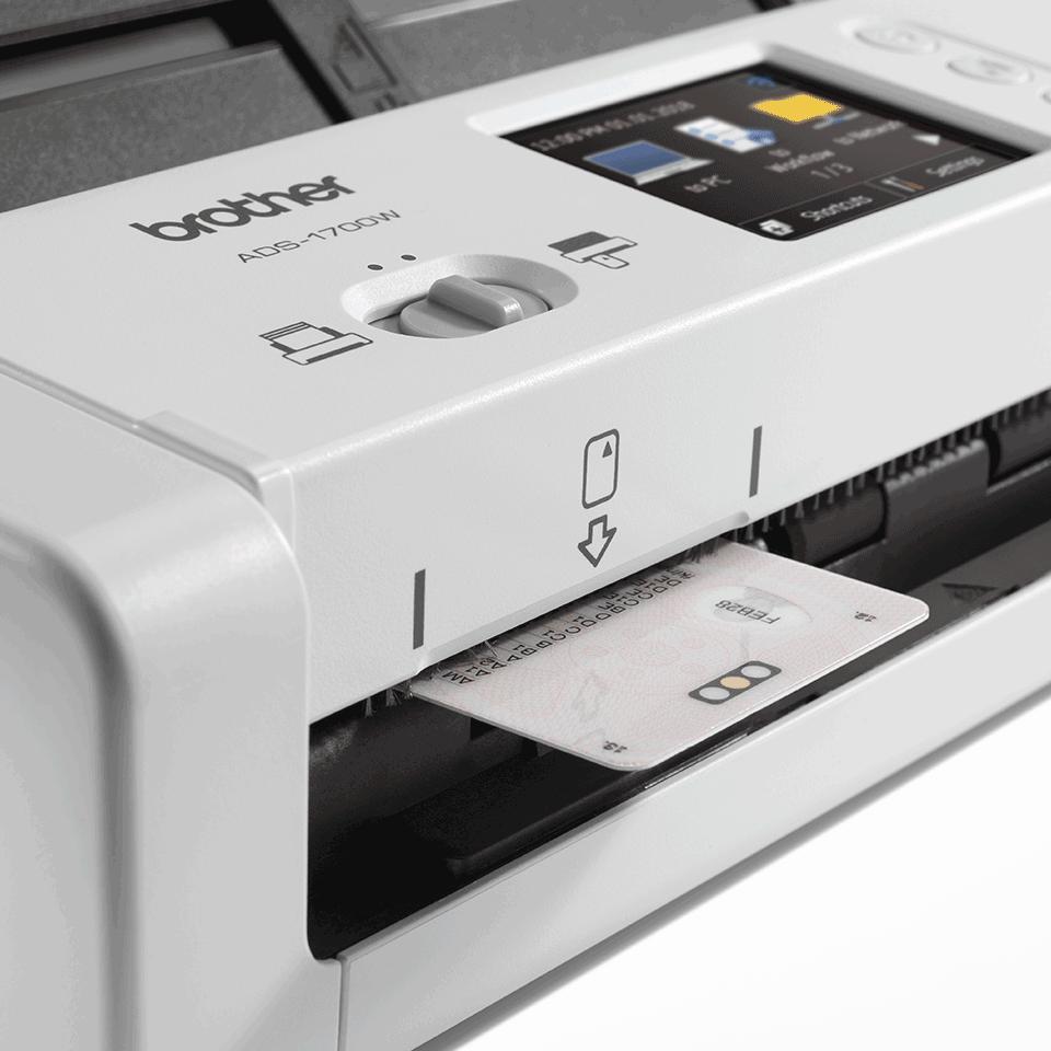 ADS-1700W sumanus, kompaktiškas dokumentų skaitytuvas 7
