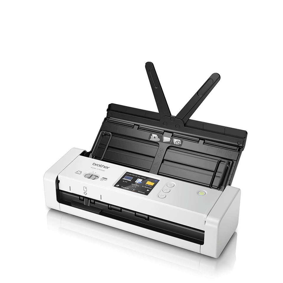 ADS-1700W sumanus, kompaktiškas dokumentų skaitytuvas 2