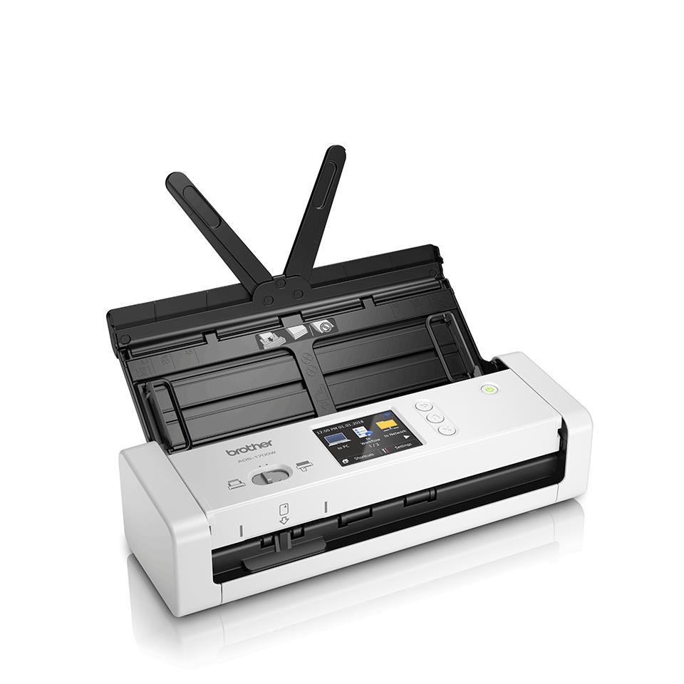 ADS-1700W sumanus, kompaktiškas dokumentų skaitytuvas 3
