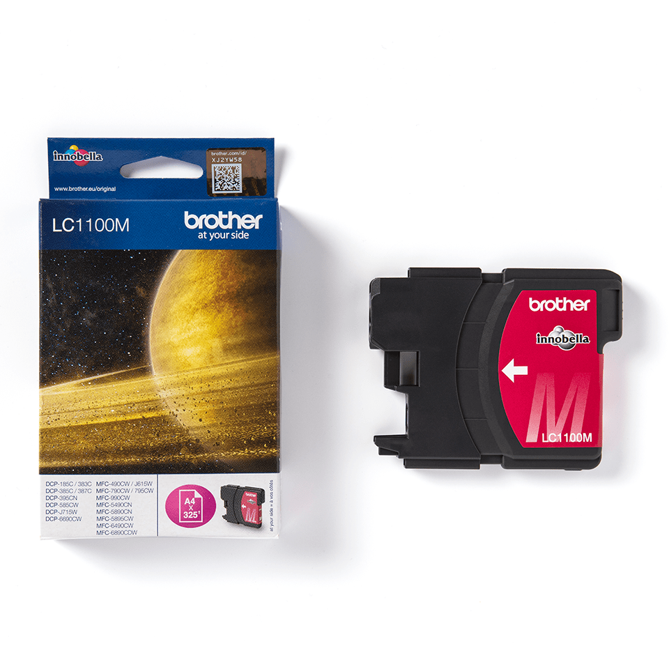 Genuine Brother LC1100M Ink Cartridge – Magenta 3