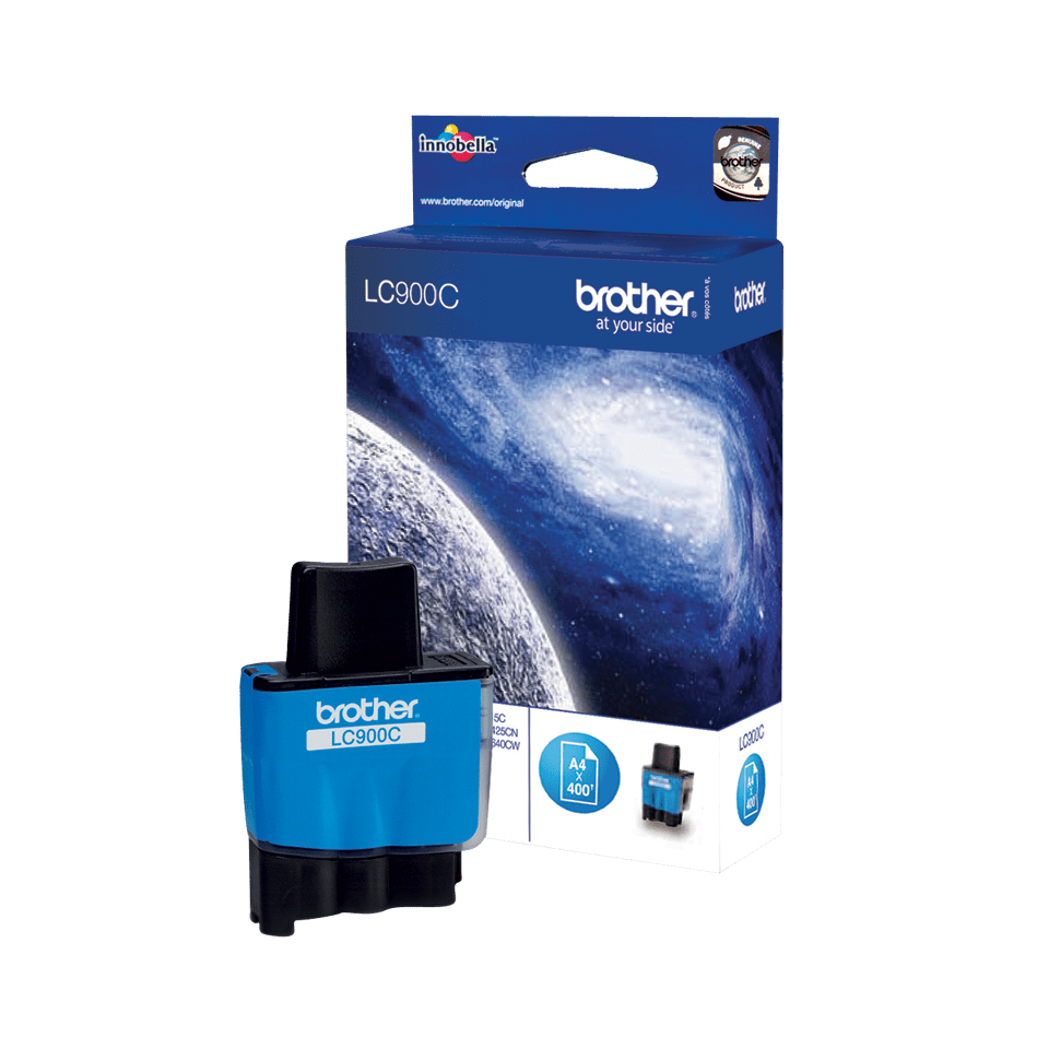 Genuine Brother LC900C Ink Cartridge – Cyan
