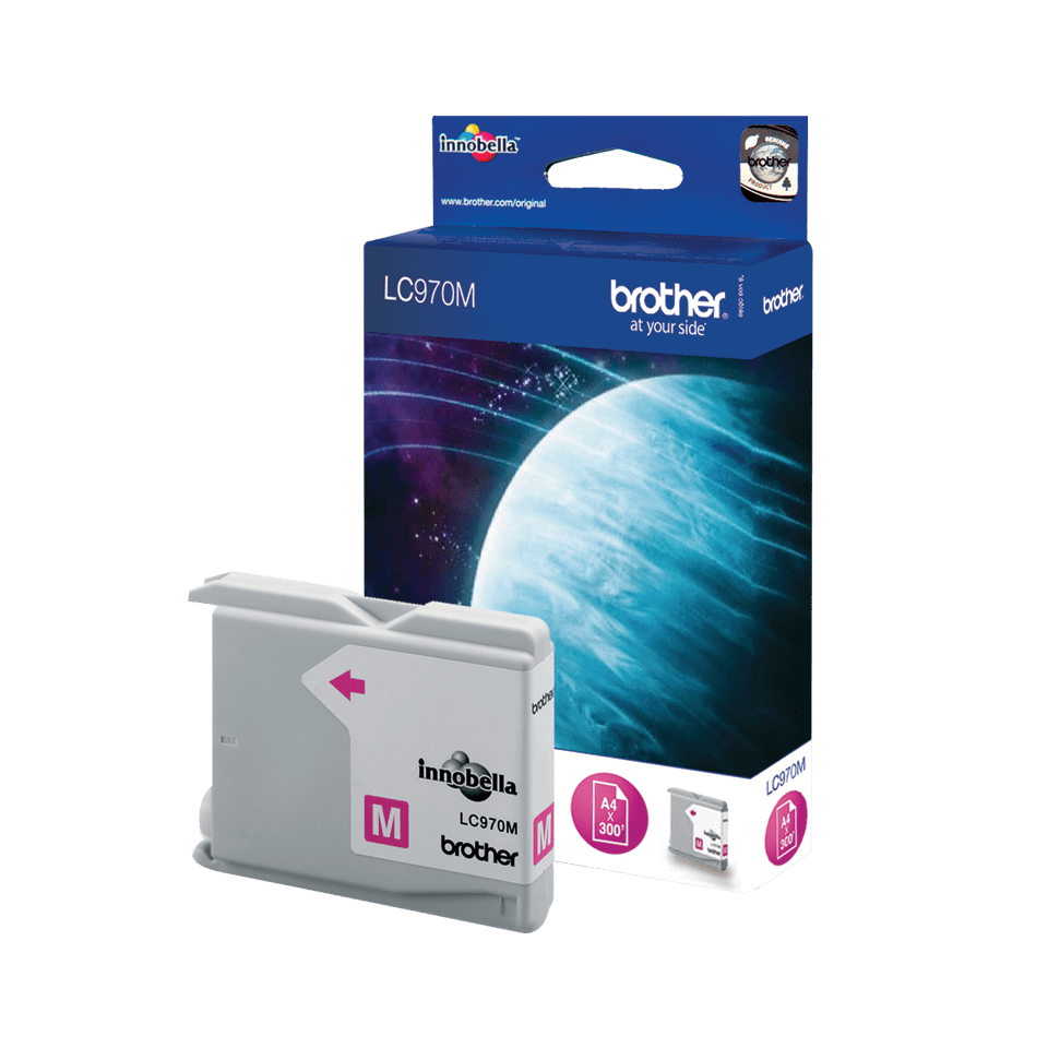 Genuine Brother LC970M Ink Cartridge – Magenta