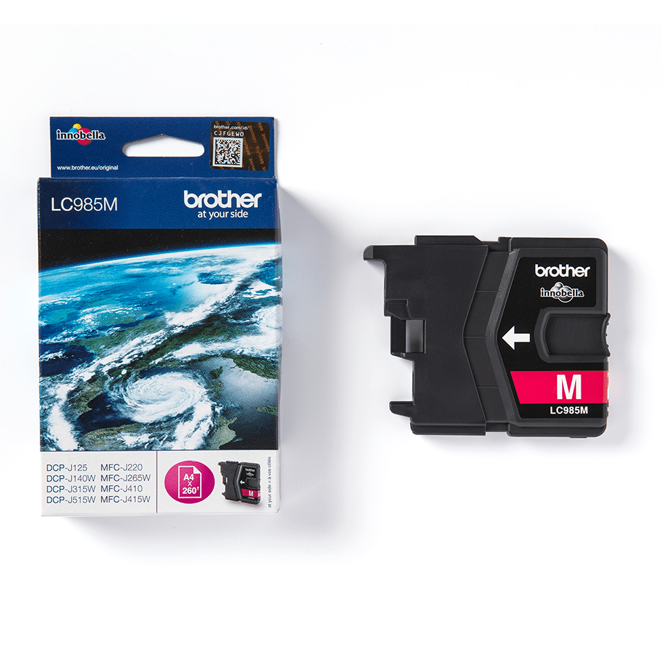 Genuine Brother LC985M Ink Cartridge – Magenta 3