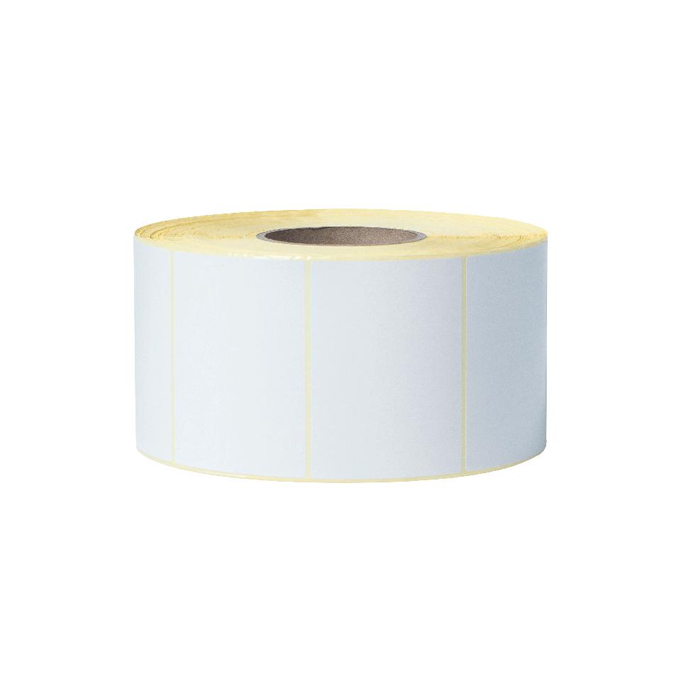 Nedengtas terminio perdavimo iš anksto suskirstytų baltų etikečių ritinėlis BUS-1J074102-203 2