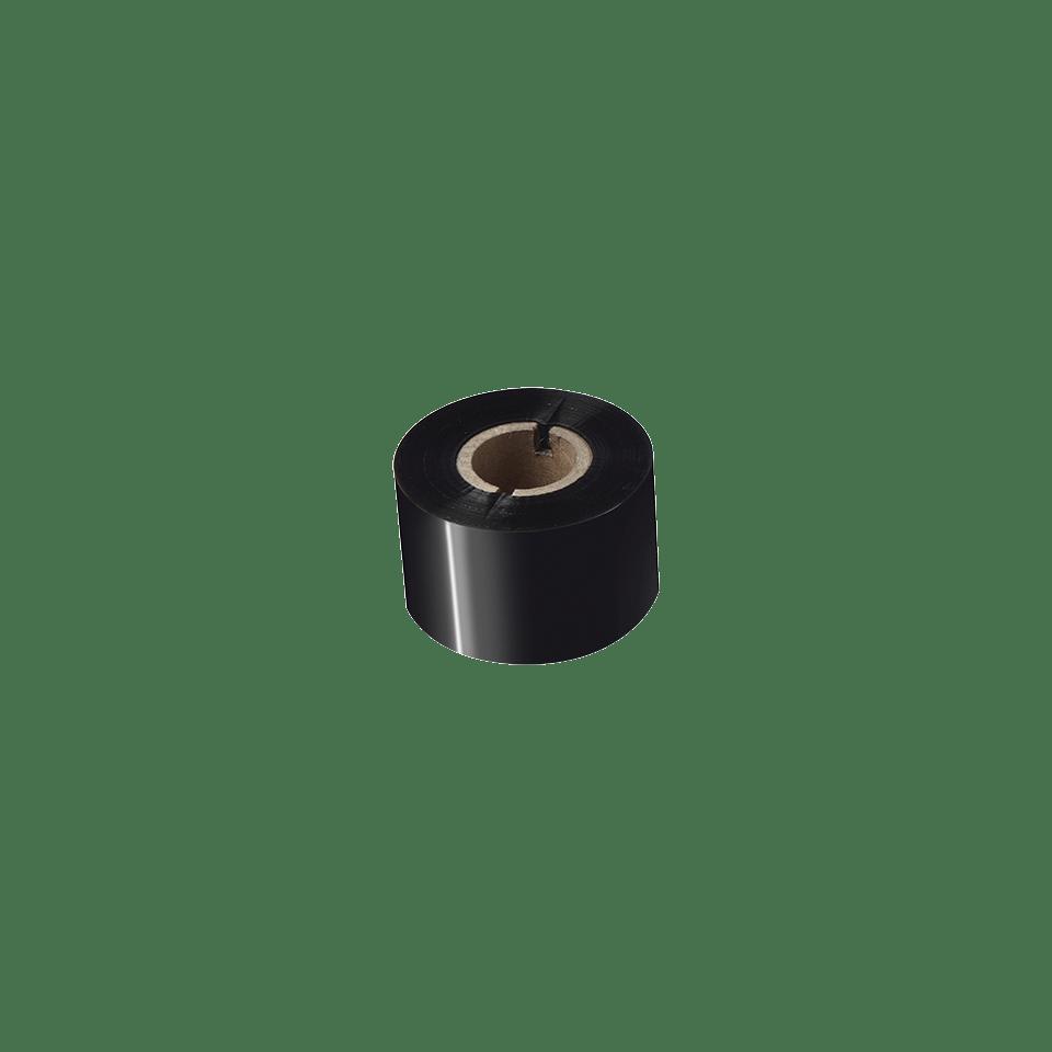 Išskirtinės kokybės vaškinė/dervos terminio perdavimo juosta su juodu rašalu  BSP-1D300-060 2