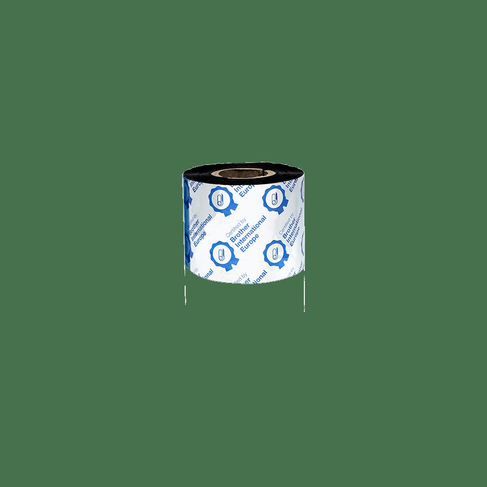 Išskirtinės kokybės vaškinė/dervos terminio perdavimo juosta su juodu rašalu  BSP-1D300-060 3